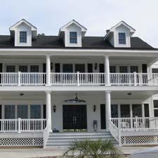 Round exterior columns for 2 story porch columns
