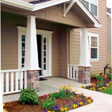 tapered square craftsman columns