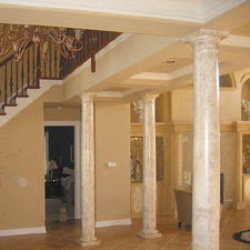 Decorative Indoor Columns - Interior Design