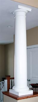 Decorative columns columns fiberglass columns for Decorative support columns