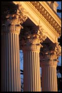 roman columns  made out of FRP