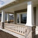 square patio columns