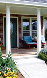 Fiberglass Columns and Porch Post | Polyclassiccolumns.com